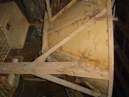 Foto 3 Kraftfuttersilo Holz 8T Gesamthöhe 4,8m