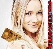 Kreditkarte Gold hochgepraegt plus Kredit schufafrei