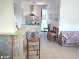 Kreta Villa Lemoni - Offene Küche zum Wohnzimmer