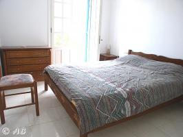 Kreta Villa Lemoni - Schlafzimmer mit Doppelbett