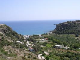 Die Bucht Agia Fotia