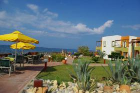 Kreta - Hotel am Strand bei Rethymnon