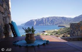 Foto 2 Kreta, Luxuriöse Stein-Villa in kretischen Ambiente mit imposantem Meerblick