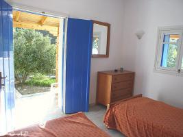 Foto 8 Kreta - Schlafzimmer der Villa Fava, Ferienwohnung für 2 Person