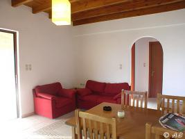 Wohnküche  Villa Xilo (lux), Faltbett kann zugestelt werden