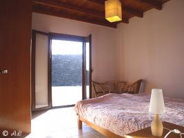 Schlafzimmer mit Doppelbett Villa Xilo (lux)