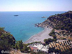 Badebucht Agia Fotia
