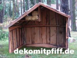 Foto 3 #Krippenfiguren als Gartendekoration zur Weihnachtszeit ... oder doch ne Holstein Kuh ...