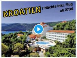 Kroatien 7Nächte ab 273 inkl. Flug Miramar Sunny Hotel