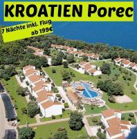 Kroatien Porec Hotel Lanterna Porec 7 Nächte inkl. Flug ab 199€