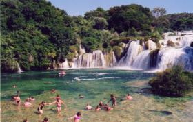 Foto 8 Kroatien Urlaub Appartement mit Pool am Badestrand