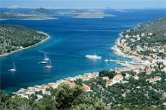 Foto 6 Kroatien insel Kaprije, Wohnungen-Unterkunft 12 Eur Pers/Strand+Liegenplatz fur Ihr Boot , Halbpension .