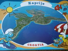 Foto 15 Kroatien insel Kaprije, Wohnungen-Unterkunft 12 Eur Pers/Strand+Liegenplatz fur Ihr Boot , Halbpension .