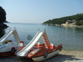 Foto 3 Kroatien, Istrien, Baugrundstück 400 m von Meer, schöne Meerblick