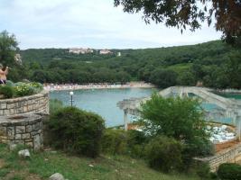 Foto 4 Kroatien, Istrien, Baugrundstück 400 m von Meer, schöne Meerblick