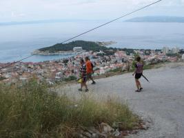 Aussichtsplatte Makarska