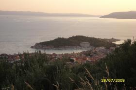Sonnenuntergang über Makarska