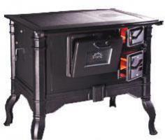 Küchenofen im Retro Design