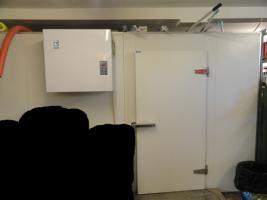 Kühlhaus komplett mit Apperatur
