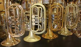 Foto 4 Kühnl & Hoyer Profiklasse Basstrompete in Bb, weite Bauart, Neuware