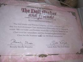 Foto 5 Künstlerpuppe Puppe limitiert Zertifikat NEU im Karton