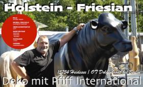 Foto 5 Kuh Pferd Bulle uvm. als Attrappe  … www.dekomitpfiff.ch