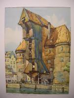 Kunstdruck Danziger Krantor