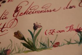 Foto 2 Kunstkurs ''Faszination Kalligraphie''