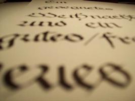 Foto 3 Kunstkurs ''Faszination Kalligraphie''