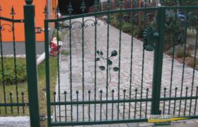 Foto 4 Kunstschmiede aus Polen, Zaun, Metallzaun, Stahlzaun -15%