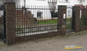 Foto 5 Kunstschmiede aus Polen, Zaun, Metallzaun, Stahlzaun -15%
