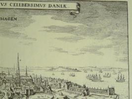 Foto 5 Kupferstich von Copenhagen (B057)