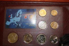 Foto 4 Kursmünzensätze versch. Länder bfr preisgünstig
