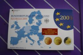 Kursmünzensatz 2009 Deutsch in PP - A -