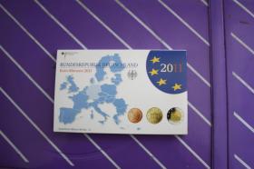 Kursmünzensatz 2011, deutsch - PP - Präge '' A ''
