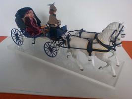 Foto 2 Kutsche m. Pferdegespann