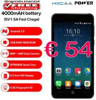 LEAGOO KIICAA Power Smartphone 2/16GB Fingerprint etc.  54€ frei Haus