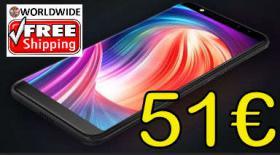 LEAGOO M9 Smartphone 51€ frei Haus 53% reduziert