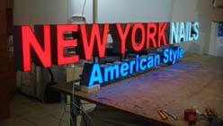 Foto 5 LED, Buchstaben, Einzelbuchstaben, Profilbuchstaben, Werbebuchstaben, Plexibuchstaben,
