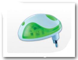 LED  NACHT- und STIMMUNGSLICHT mit Dämmerungssensor!