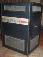 LESLIE-Orgelkabinett-Gehäuse für rotierende Lautsprecher