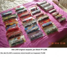 LKW Sammlung zu verkaufen wegen Platzmangel