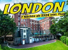 LONDON England Hotel RestUp 7 Nächte ab 232€ inkl. Flug