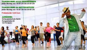Artdance Berlin Samba Tanzkurs in Berlin mit Ailton Silva