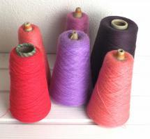 Lace - Beilaufgarn - stricken - ca 1.0 kg - koralle - pink - violett