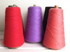 Foto 2 Lace - Beilaufgarn - stricken - ca 1.0 kg - koralle - pink - violett