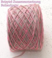 Foto 4 Lace - Beilaufgarn - stricken - ca 1.0 kg - koralle - pink - violett