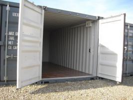 Lager-Garage-Container-Archiv-Kleinlager mit Licht und Strom