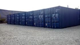 Lager-Garage-Container-für Privat und Gewerbe mit Licht und Strom