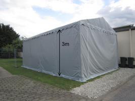 Lagerzelt mobiler Unterstand 6x12 m stabil und wasserdicht